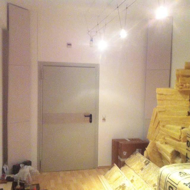 Ersten zwei Eckabsorber sind fertig! :) Projekt